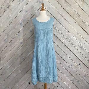 Grizas Linen and Silk Blend Dress